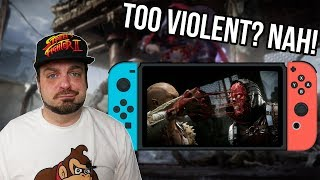Mortal Kombat 11 is NOT Too Bloody and Gory For Switch! | RGT 85