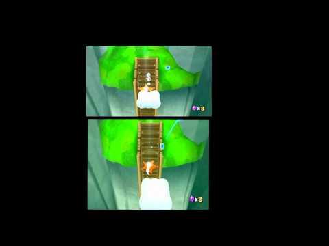 Wii Mario Galaxy 480p vs 480i component vs composite [HD]