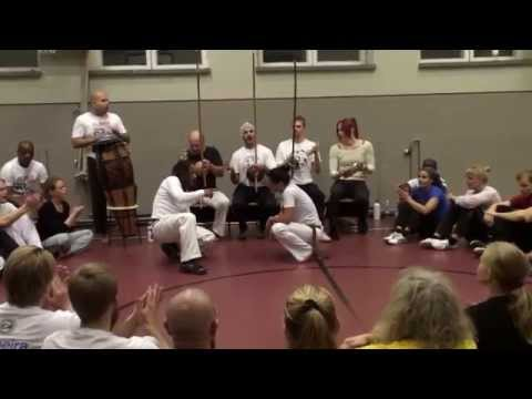 Roda at the event 25 years of Capoeira in Finland part 1