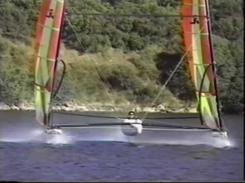 Hobie TriFoiler Promotional Video (Hobie Archive Video)