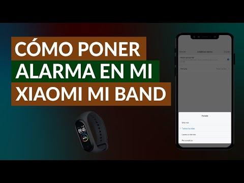 Cómo Poner Alarma o Despertador en mi Xiaomi Mi Band - Fácil y Rápido