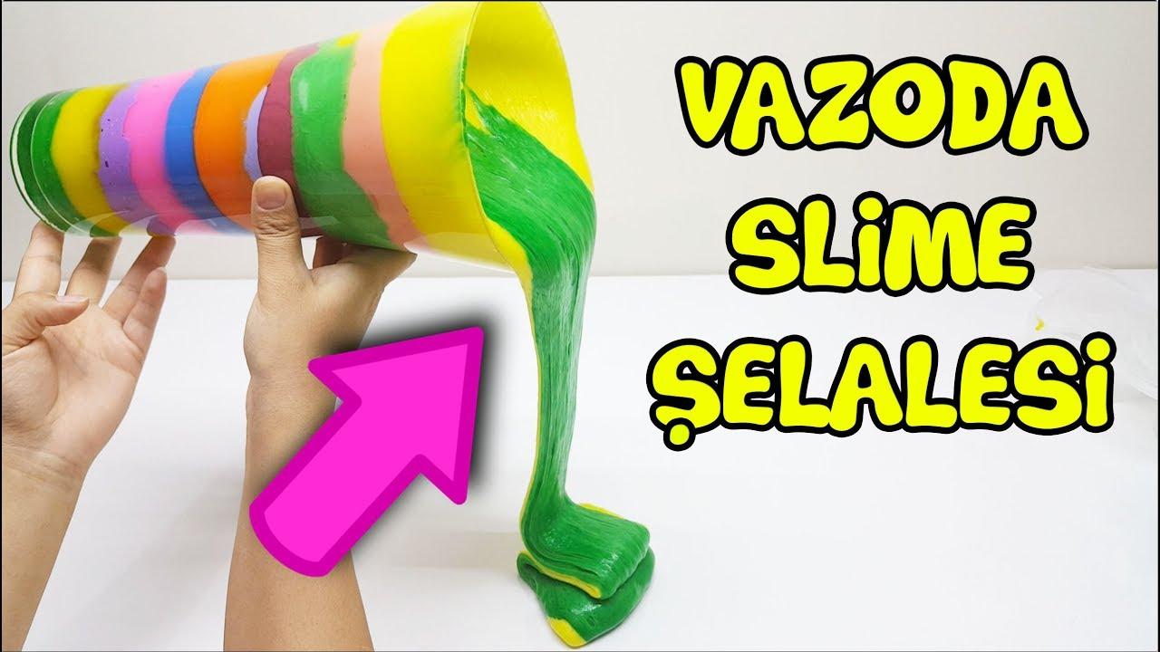 Slime Şelalesi - İlginç Slime Çorbası Oldu VakVakTV