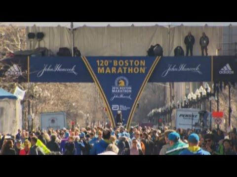 Security tight at the Boston Marathon