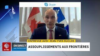 Quarantaine et voyageurs vaccinés : entrevue avec Jean-Yves Duclos