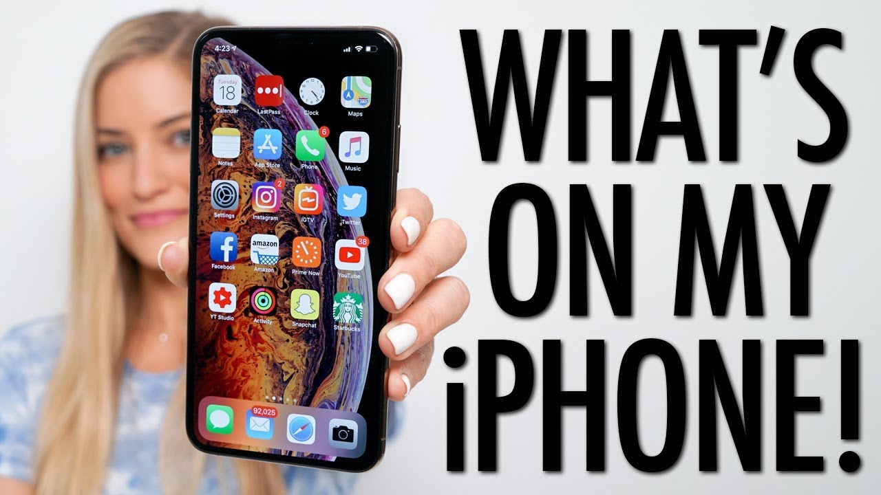 Whats on my iPhone Xs  YouTube