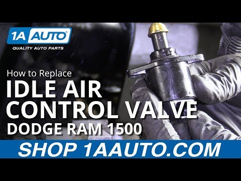 How to Replace Idle Air Control Valve 94-02 Dodge Ram 1500