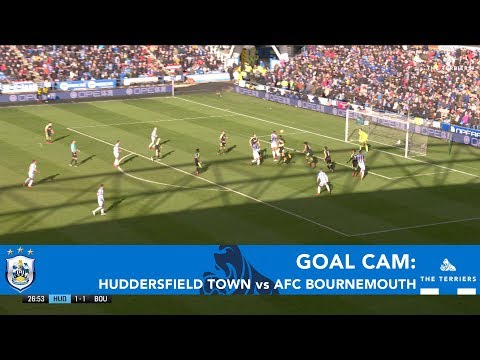 GOAL CAM: Huddersfield Town 4-1 AFC Bournemouth