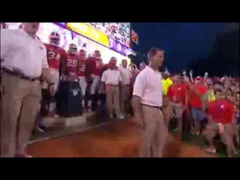 CLEMSON FOOTBALL ENTRANCE - NEW BREATHTAKING BEHIND THE SCENES FOOTAGE