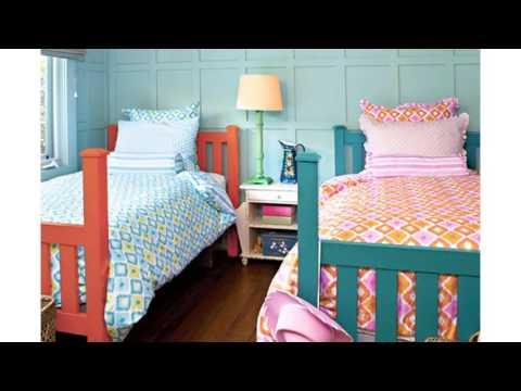 Ideas decoración compartido habitación de los niños