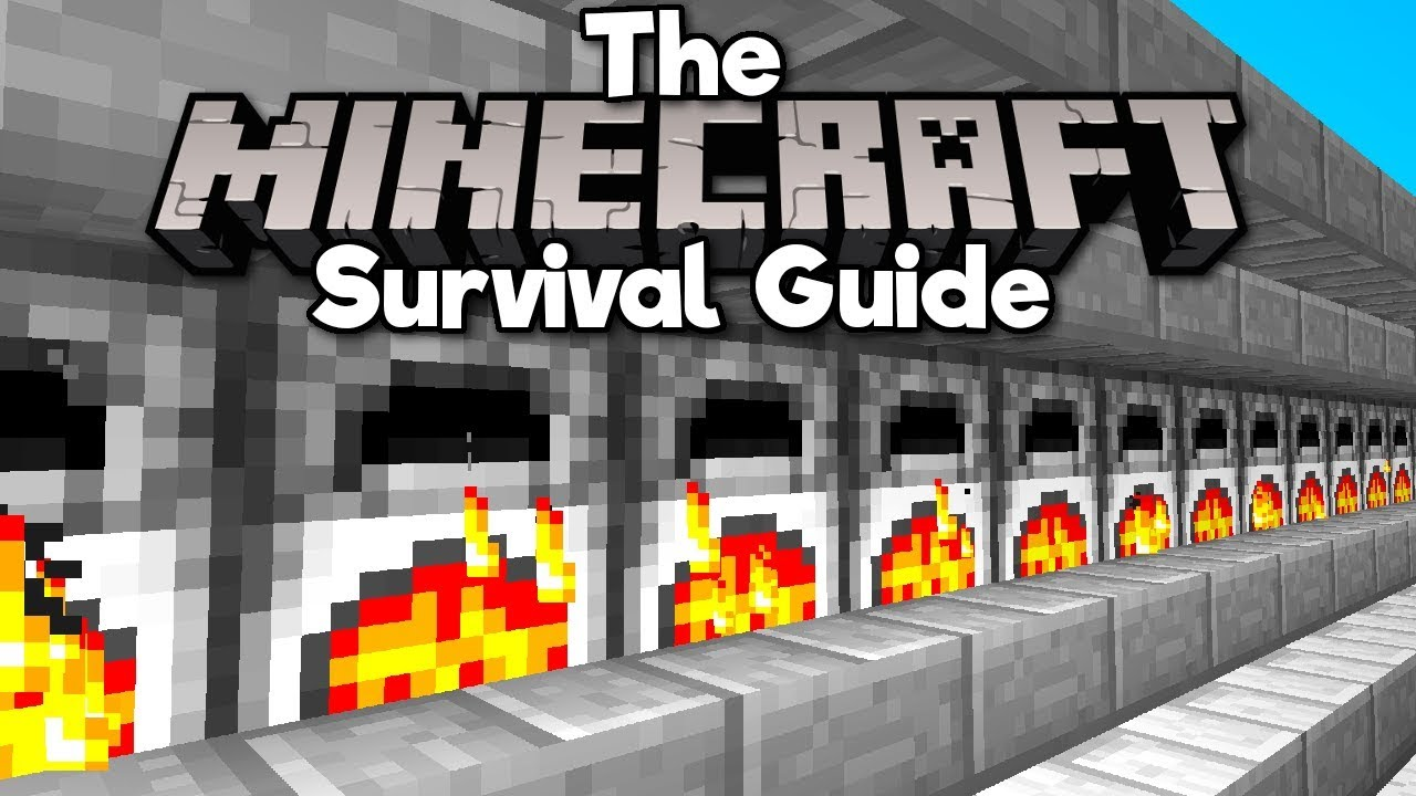 An Easy Auto-Smelter! ▫ The Minecraft Survival Guide (Tutorial Lets Play) [Part 77]