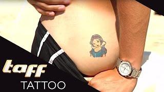 Schneewittchen auf dem HINTERTEIL?   Tattoo-RAUSCH auf IBIZA!   taff Tattoo   ProSieben