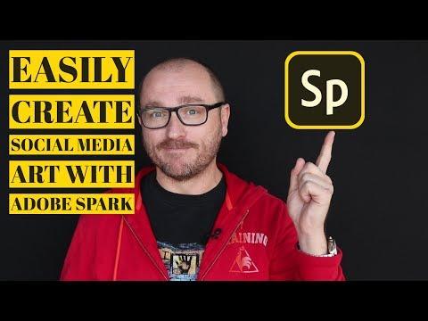 Easily Create Social Media Art with Adobe Spark