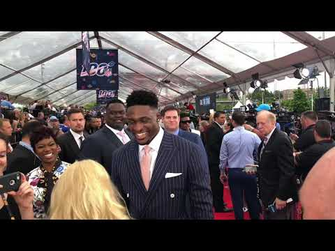 DK Metcalf Suit Game Interview At 2019 NFL Draft Nashville
