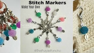 Make Your Own Stitch Markers!