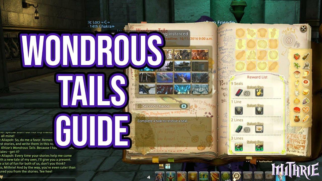FFXIV 3 4 0948 Wondrous Tails Guide