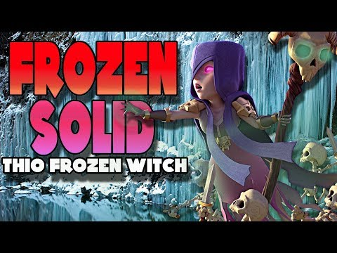 Freeze Everything! Frozen Witch TH10 and MORE | Clash of Clans