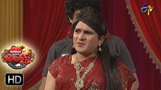 Rocket Raghava Performance | Jabardsth | 20th April  2017 | ETV Telugu
