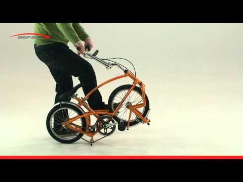 Bigfish Folding Bike - UNFOLDING INSTRUCTIONS