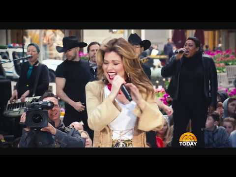 Shania Twain - I'm Gonna Getcha Good! (Live On TODAY) - April 30, 2018