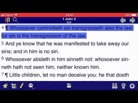 SIN IS THE TRANSGRESSION OF THE LAW