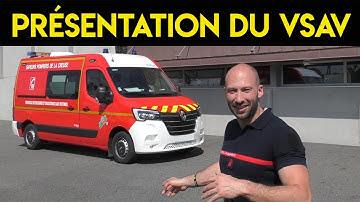 Présentation du VSAV  ( Ambulance Pompier )