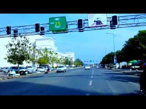 Asia Travel - Touring Asian Phnom Penh Streets - Youtube 122