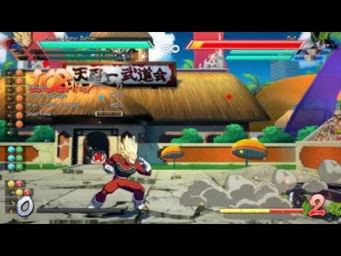 How to get max damage off Dragon Rush in DBFZ