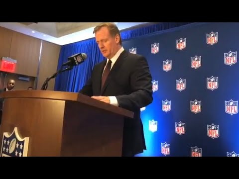 Roger Goodell, Jed York Talk At NFL Fall Owners Meeting 2017 Press Conference Livestream