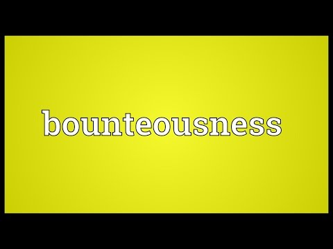 Header of bounteousness