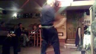 Dancing Man at Kenny Håkansson gig