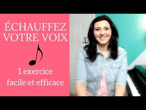 Singing lessons: An exercise to improve your voice | vocal technique | vocalises