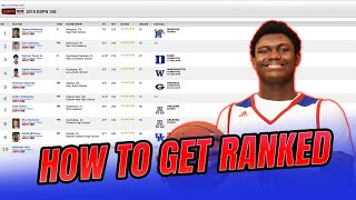 How To Get RANKED! 5 Ways To Become Nationally Known!