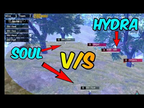 Soul vs Hydra, Nova vs Cosmic, Dynamo vs Gareboo, streamers battle epic fights pubg mobile