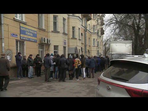 Аншлаг у наркологов за справками для ГИБДД.
