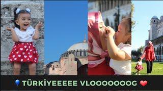 SONUNDA TÜRKİYEDEYİZ !!  Türkiyede gözüme çarpan değişiklikler İSTANBUL VLOG