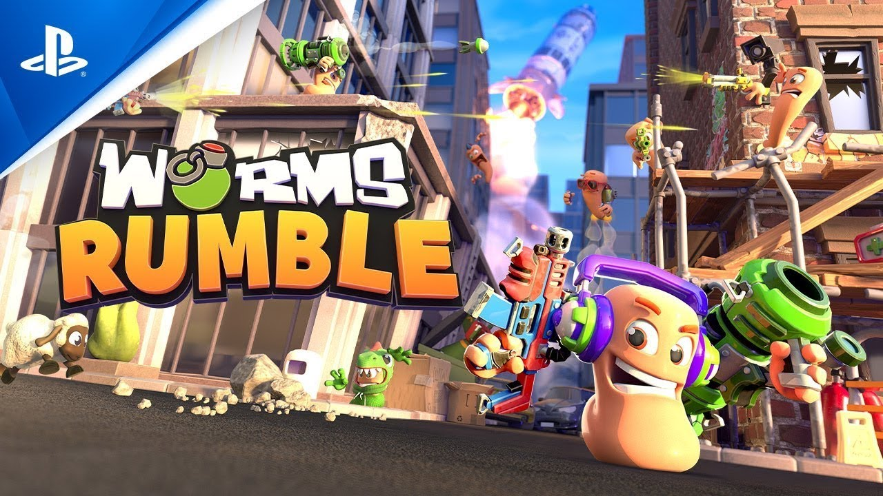 Worms Rumble 發表預告片