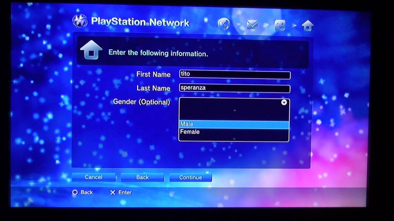 Crear Cuenta Playstation Network USA en ARGENTINA