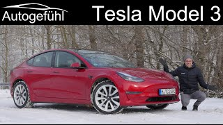 Tesla Model 3 Facelift FULL REVIEW - how much better is it now? 2021 Long Range model