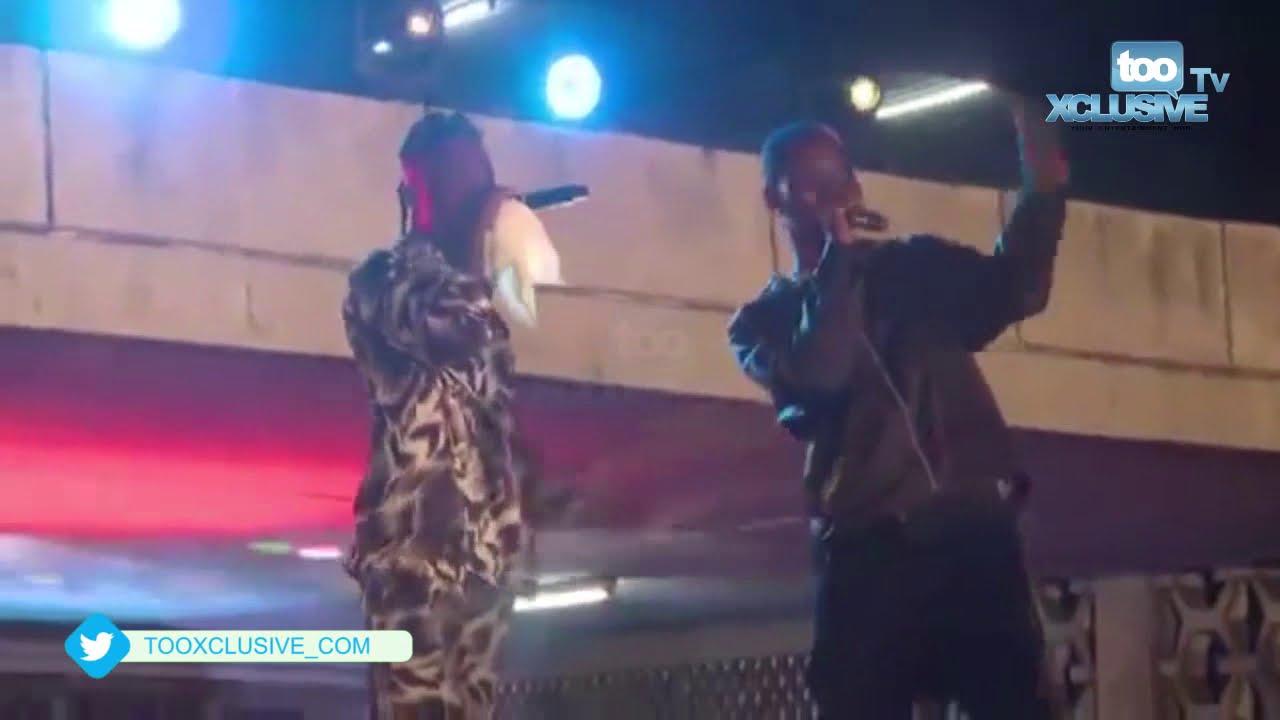 Download Zinoleesky & Naira Marley's Performance On Marlians Day Celebrations