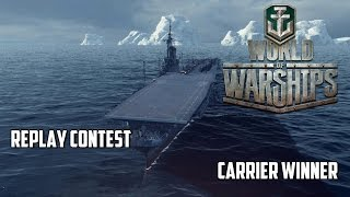 One of The Mighty Jingles's most viewed videos: World of Warships Replay Contest - Carrier Winner
