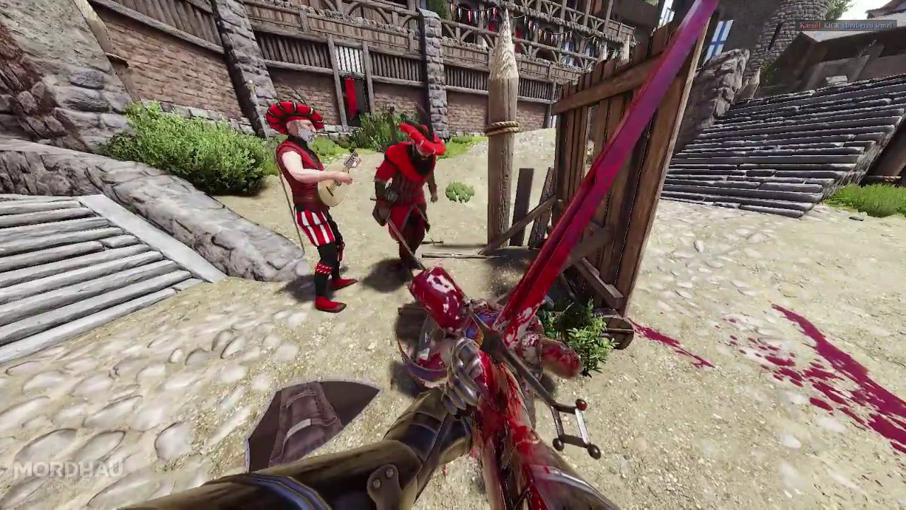 Mordhau: Archery, bear traps, lute and other stuff