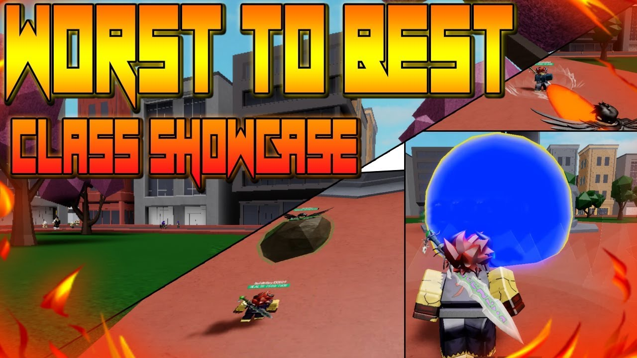 ALL CLASS SHOWCASE IN   HEROES LEGACY!   ROBLOX   NEW ONE PUNCH MAN GAME!!