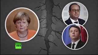 Предложения Греции разделили еврозону на два лагеря(В Брюсселе стартовал внеочередной саммит лидеров стран еврозоны по ситуации в Греции. Правительство Алекс..., 2015-07-12T16:29:13.000Z)