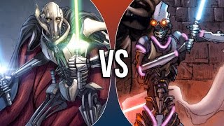 Versus Series | General Grievous vs PROXY
