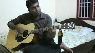 mundhinam parthene guitar cover by yuvaraj