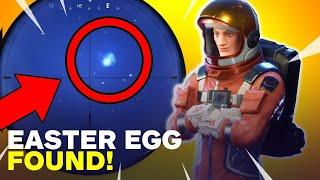 New Fortnite Easter Egg! UFO? Comet? Planet?