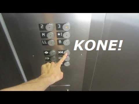 2014 KONE EcoDisc (MRL) traction elevator at Rohlfs Hall, Morningside college, Sioux City IA