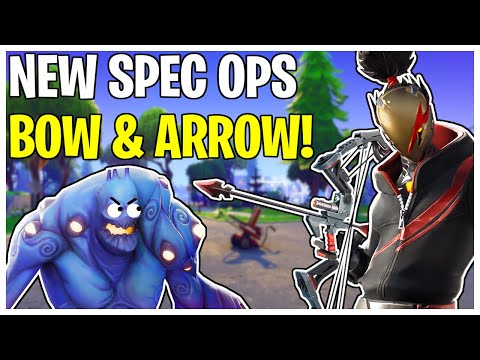 NEW Spec Ops Endgame Bow & Arrow! The Instigator Weapon Review | Fortnite Save The World