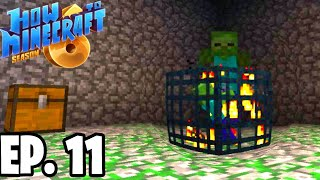 MAKING A MOB GRINDER! |H6M| Ep.11 How To Minecraft Season 6 Survival Series (SMP)