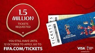 How to apply for tickets Fifa World cup 2018 Russia   Tickets on sale   Russia 2018